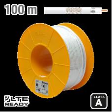 COAXIAL cable 2127 TELEVES CXT-1 CCS Al White PVC