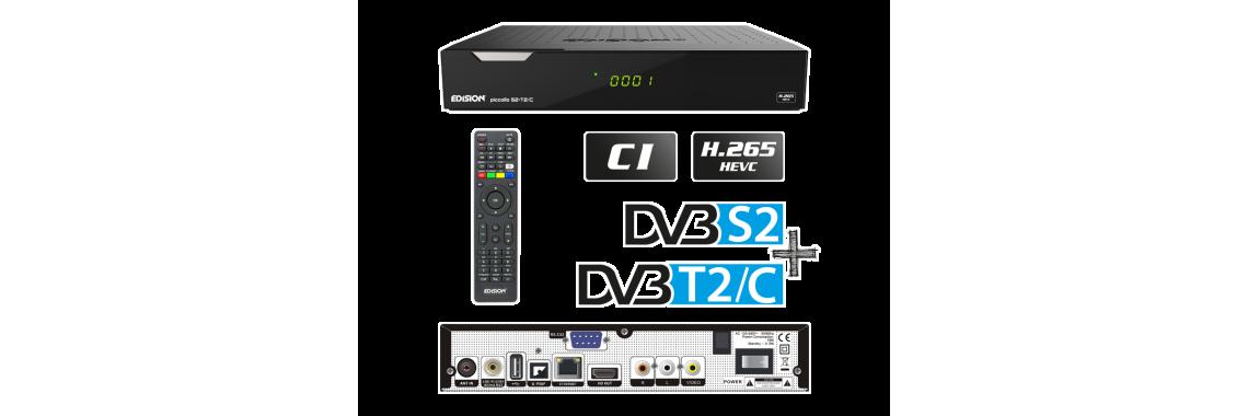 PICCOLLO DVB-S2 DVB-T2/C CI+  H.265/HEVC